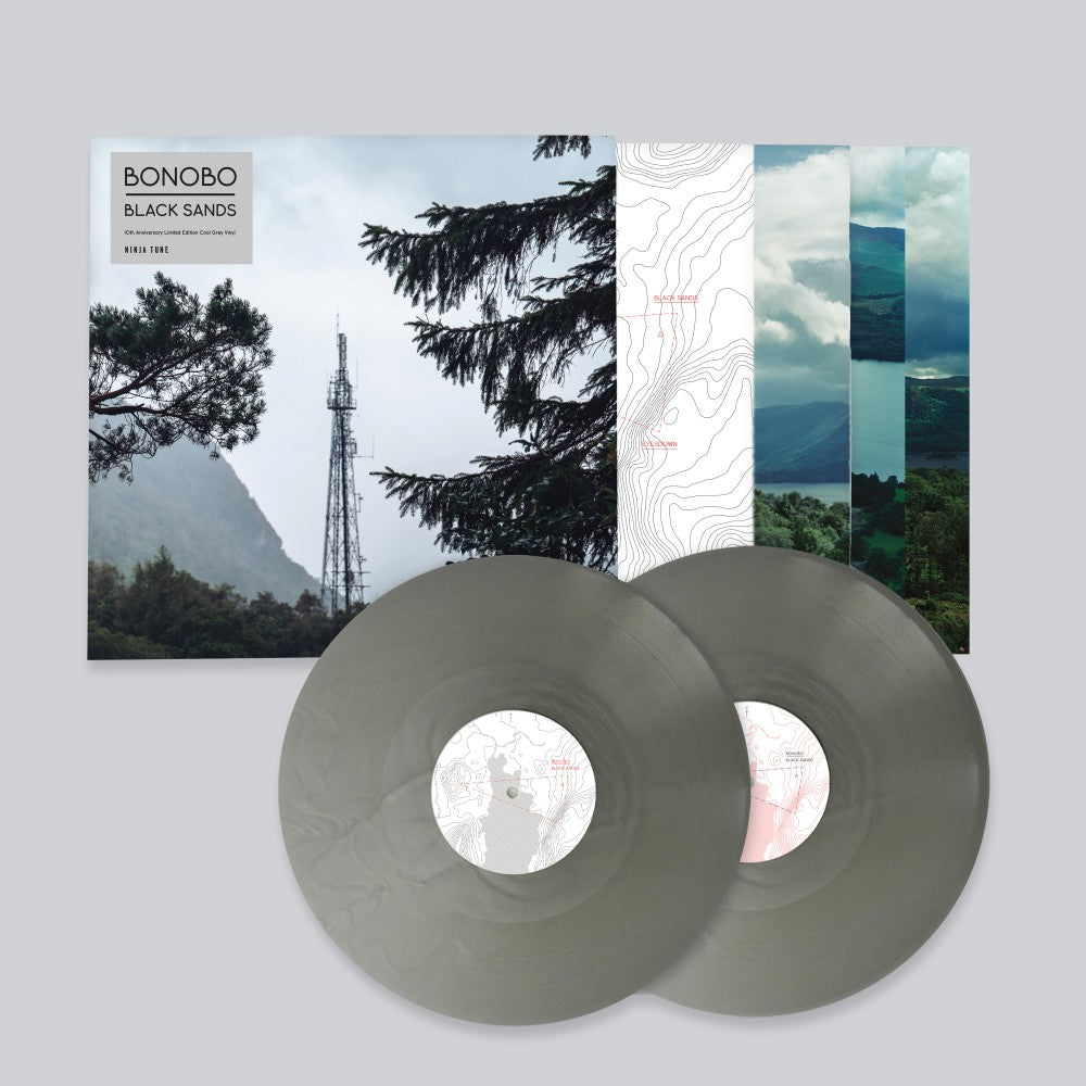 Bonobo - Black Sands 10th Anniversary 2LP Grey Colour Vinyl Record Album