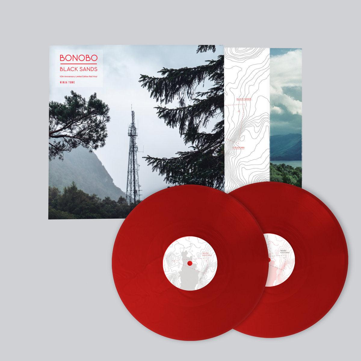 Bonobo - Black Sands 10th Anniversary Limited Edition 2LP Red Colour Vinyl Record Album