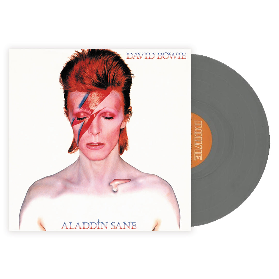 David Bowie ‎– Aladdin Sane Limited Edition Silver Colour Vinyl Record Album
