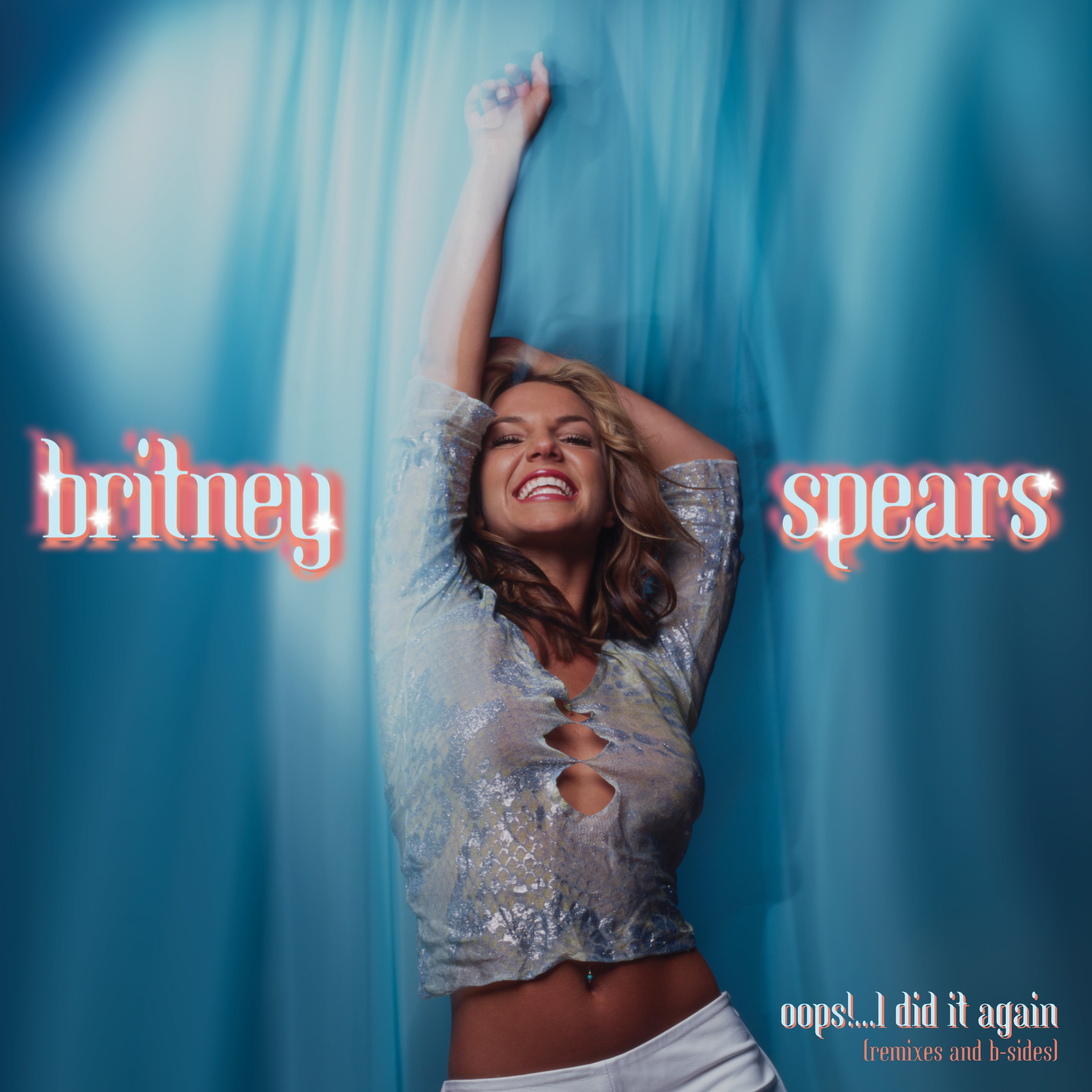 Britney Spears - Oops! I Did It Again (RSD 2020 Drop Two) Baby Blue Colour Vinyl Record