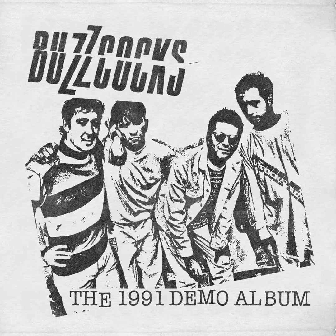 Buzzcocks - The 1991 Demo Album Vinyl Record Black/White Colour Record