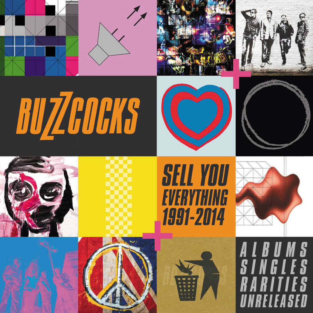 Buzzcocks - Sell You Everything (1991-2014) 8CD Box Set