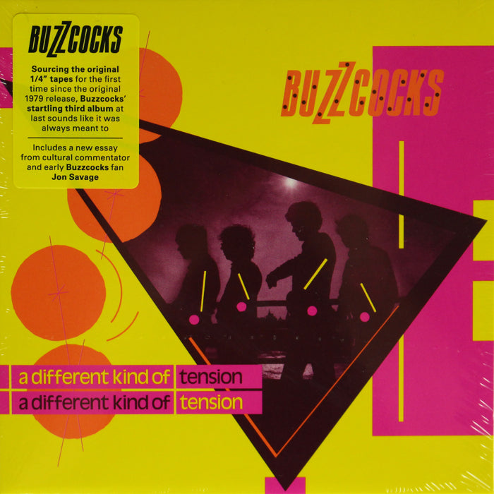 Buzzcocks - A Different Kind Of Tension CD Album, CD, X-Records