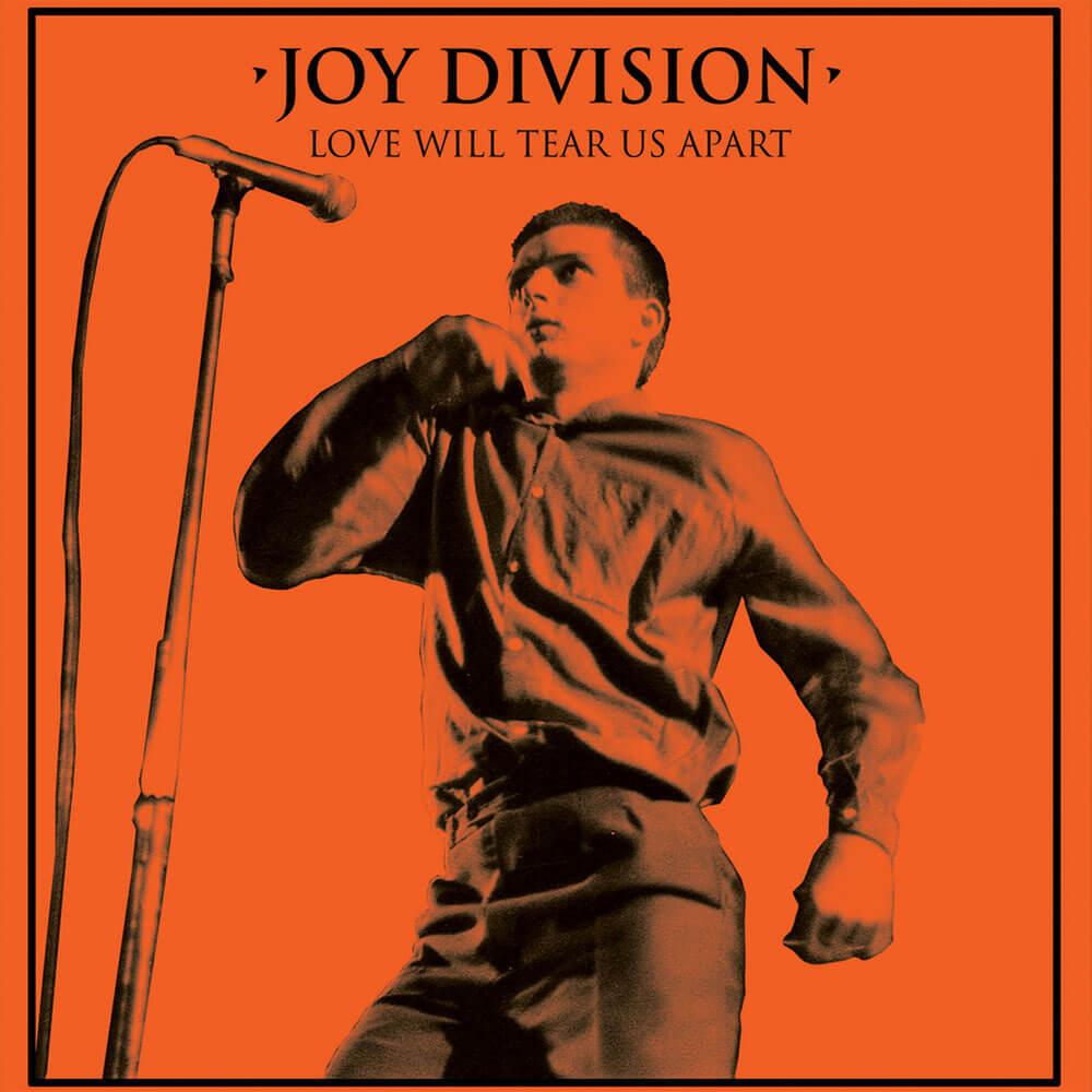 "Joy Division - Love Will Tear Us Apart (Halloween Edition) 12"" Orange Colour Vinyl Record"