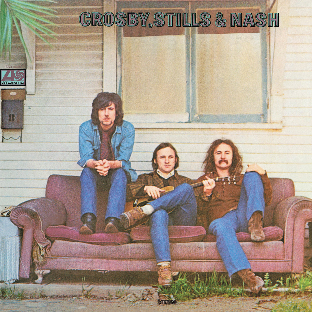 Crosby, Stills & Nash - Crosby, Stills & Nash Burgundy Colour Vinyl Record Album