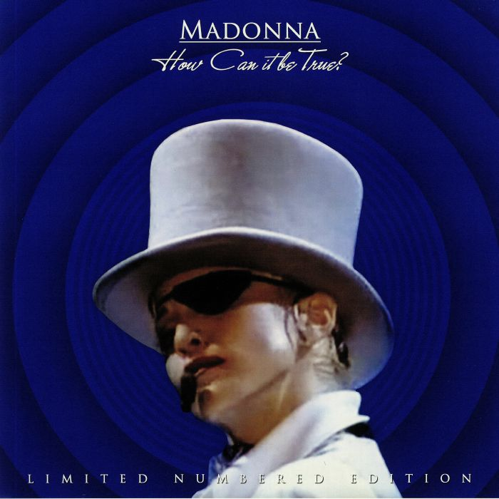 Madonna - How Can It Be True? Limited Edition Blue Colour Vinyl Record Album