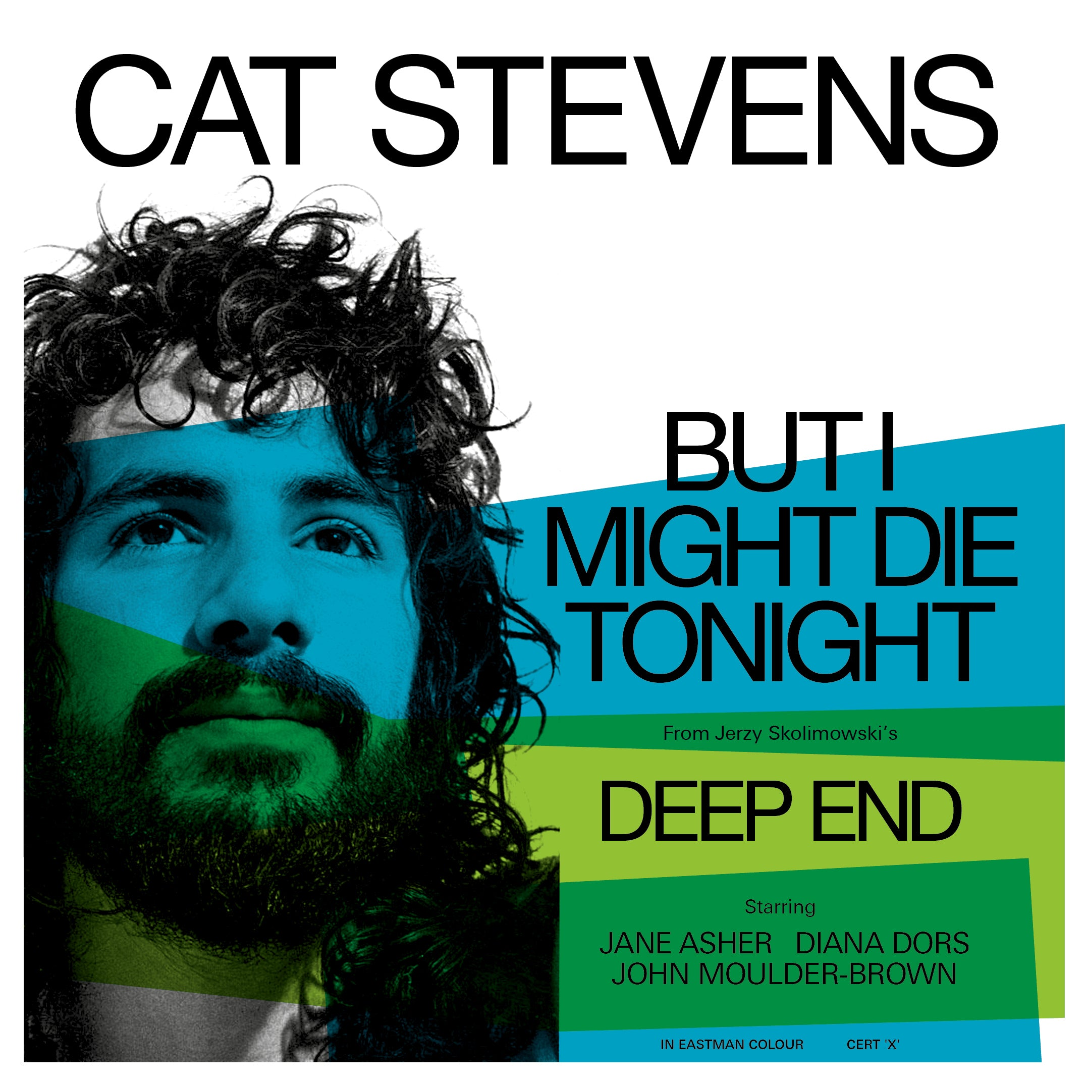 "Cat Stevens - But I Might Die Tonight (RSD 2020 Drop One) Light Blue Colour 7"" Vinyl Record"