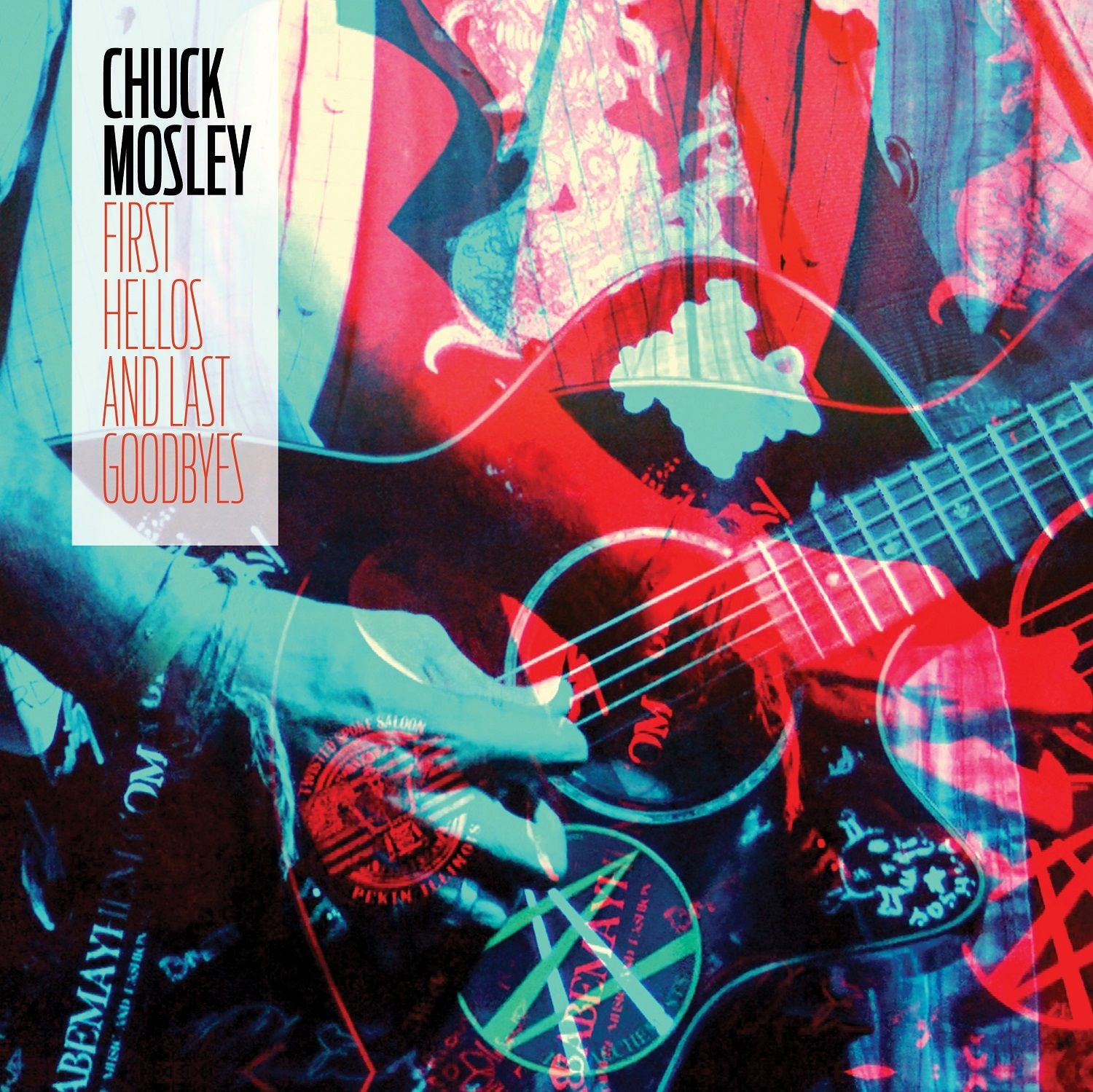 Chuck Mosley - First Hellos And Last Goodbyes (RSD 2020 Drop Two) Aqua Blue Colour Vinyl Record Album