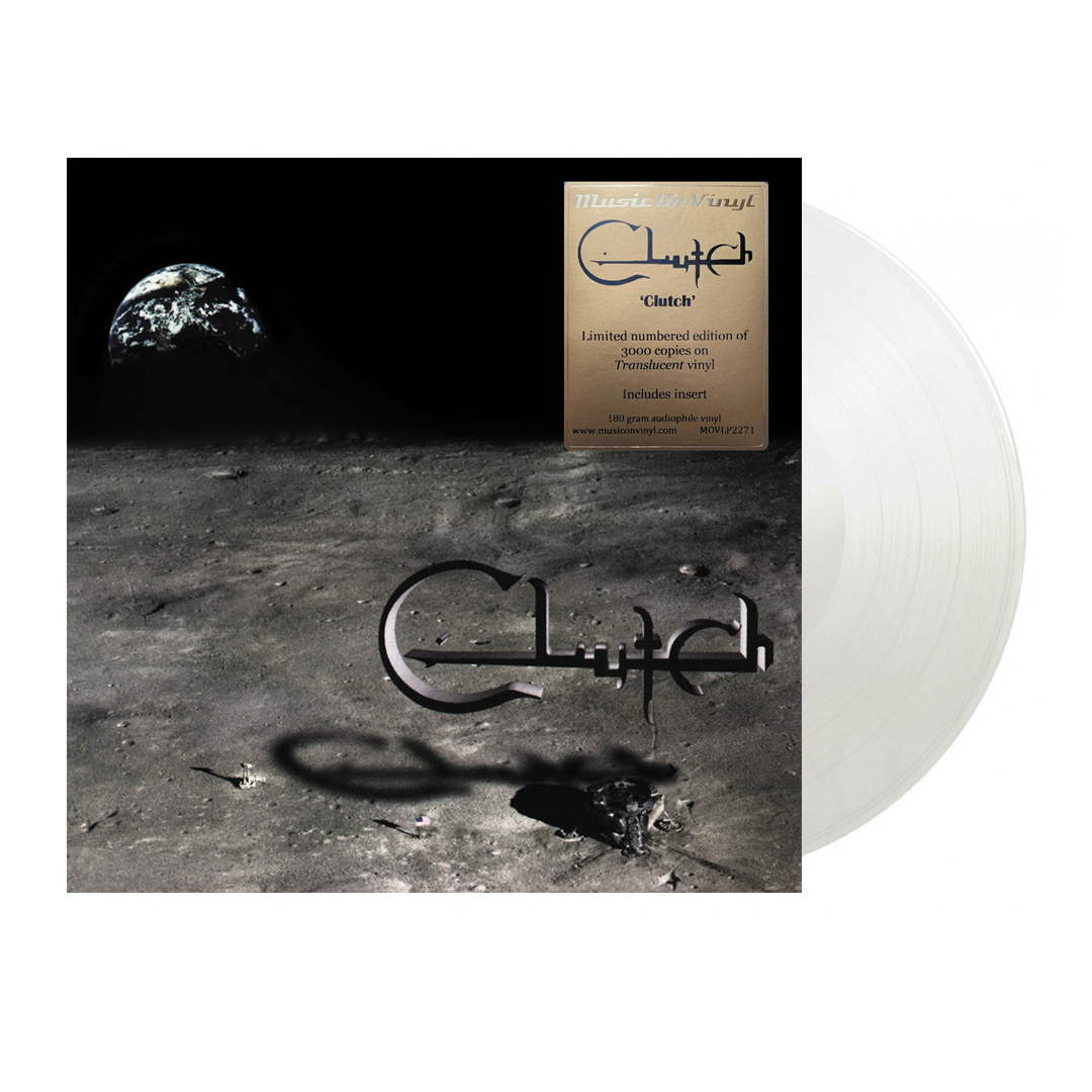 Clutch - Clutch Limited Edition Translucent Colour Vinyl Record Album