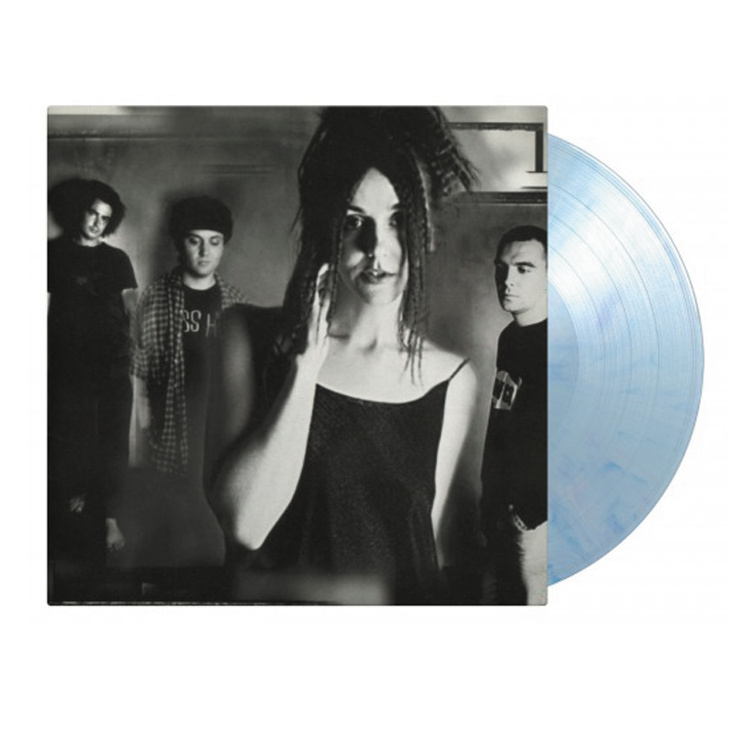 Cranes - Population Four Limited Edition Blue/White Swirl Colour Vinyl Record Album