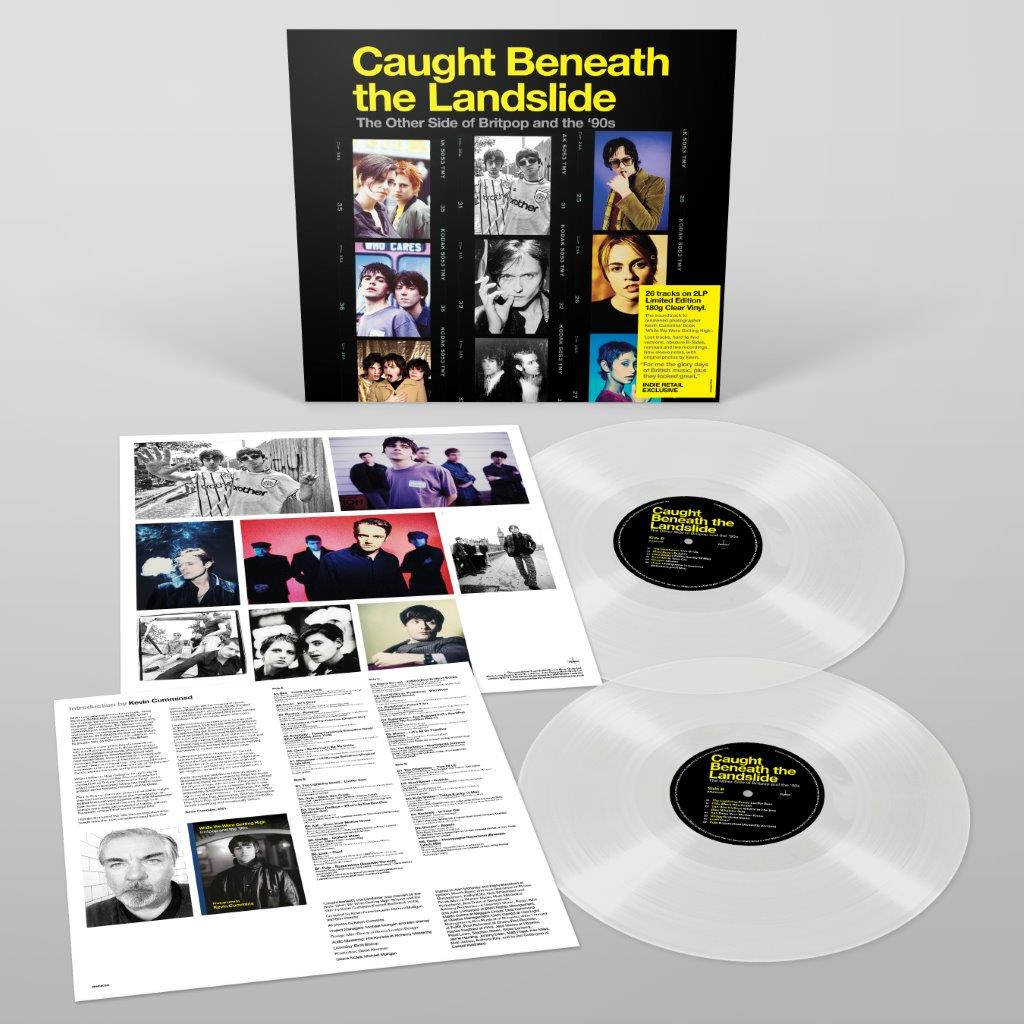 Various - Caught Beneath The Landslide 2LP 180g Clear Colour Vinyl Record Album