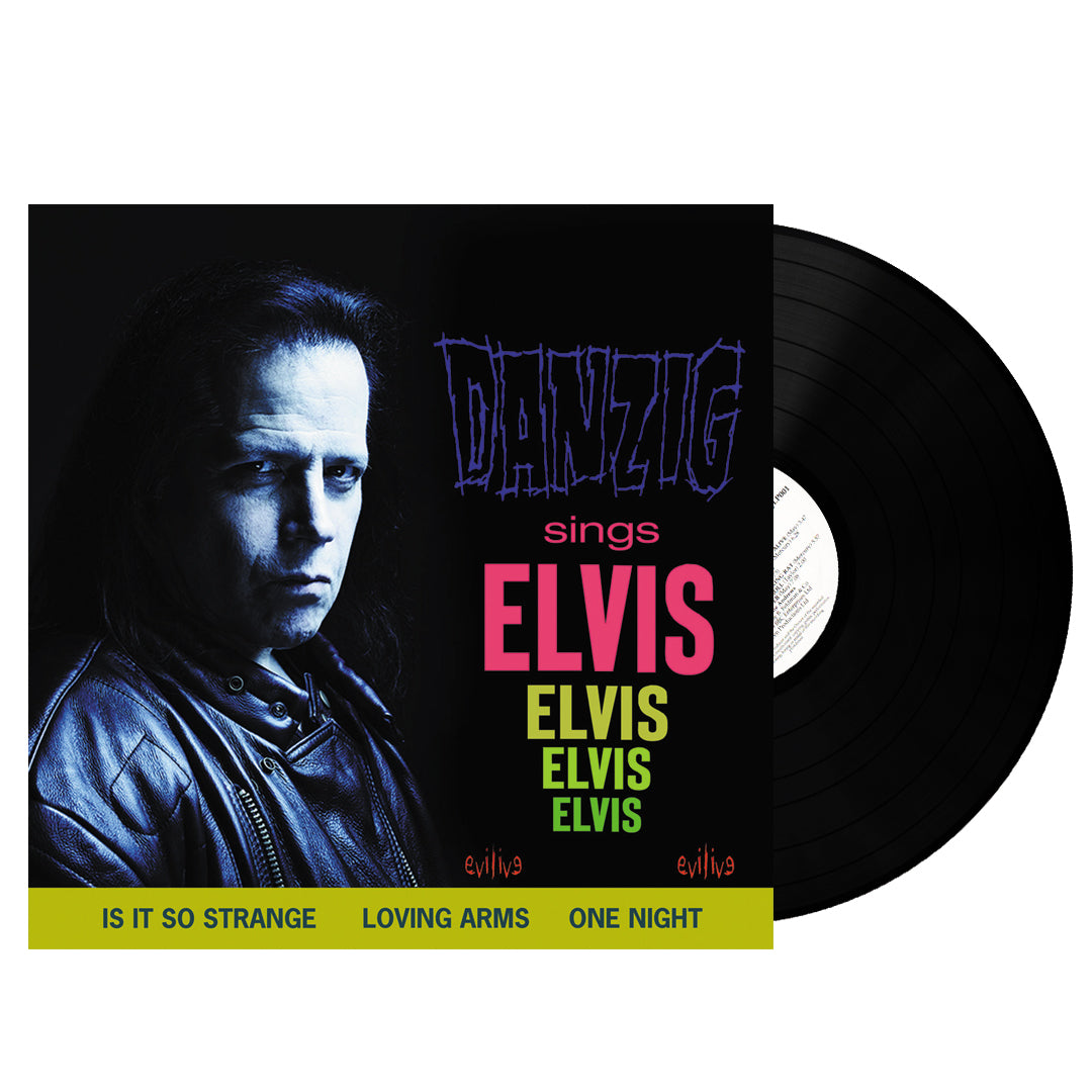 Danzig ‎– Sings Elvis Limited Edition Vinyl Record Album
