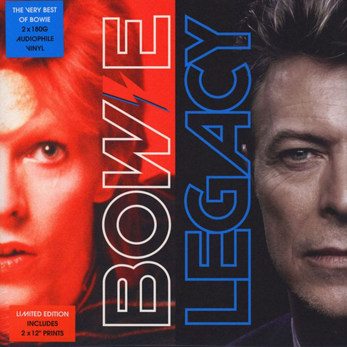 David Bowie ‎– Legacy Limited Edition 2LP 180g Vinyl Record Album