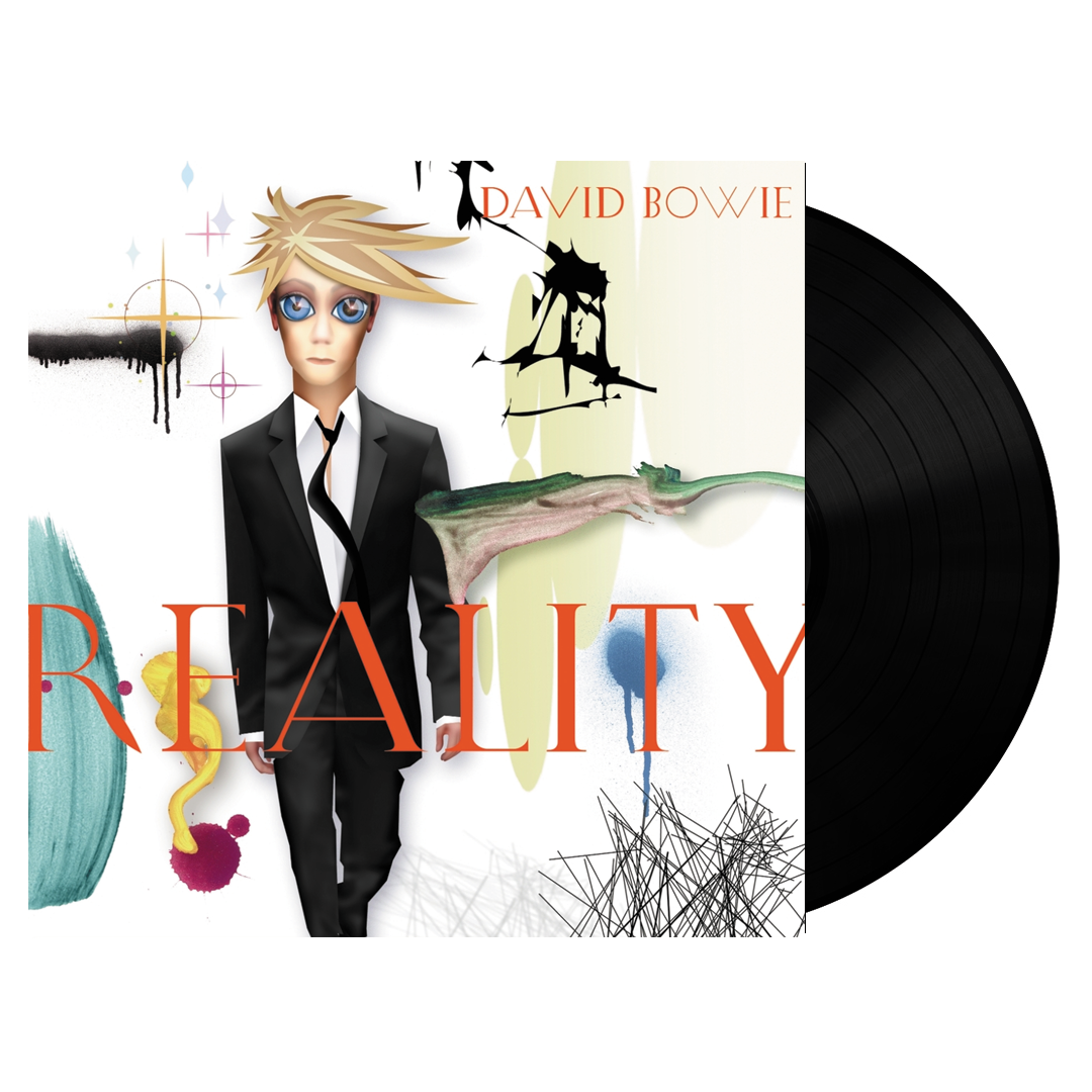 David Bowie ‎– Reality 180g Vinyl Record Album