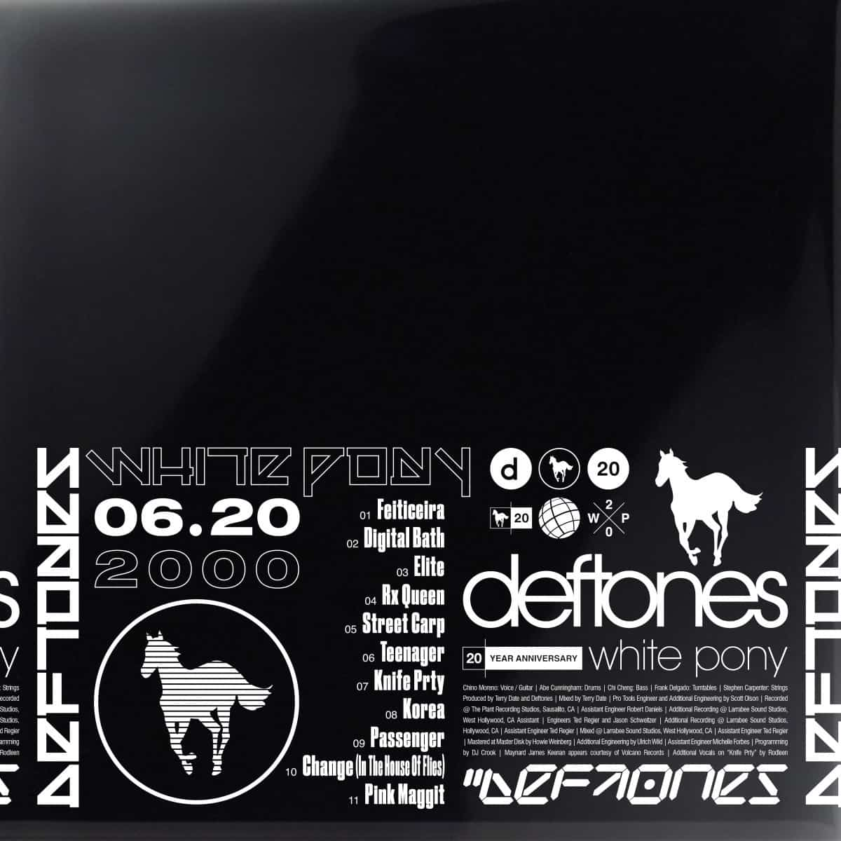 Deftones - White Pony (20th Anniversary Deluxe Edition) 4LP Vinyl Record Box Set
