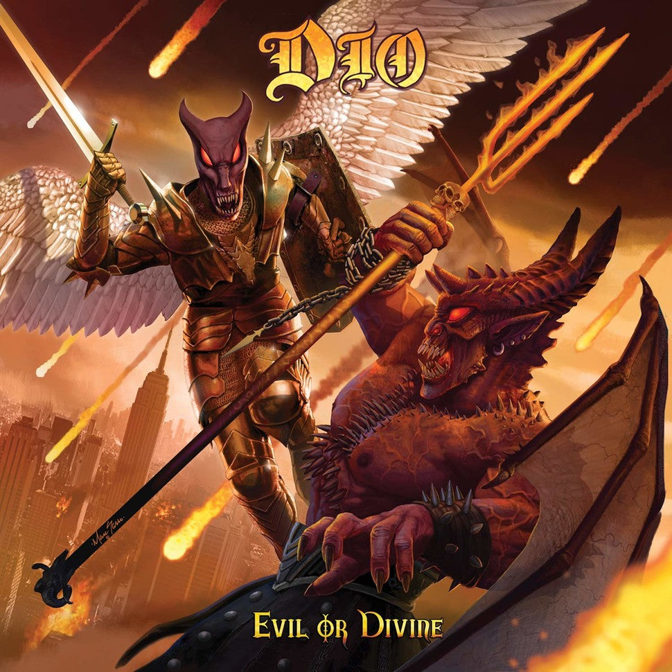 Dio - Evil Or Devine Limited Edition 3D Lenticular 3LP 180g Black Vinyl Record Album