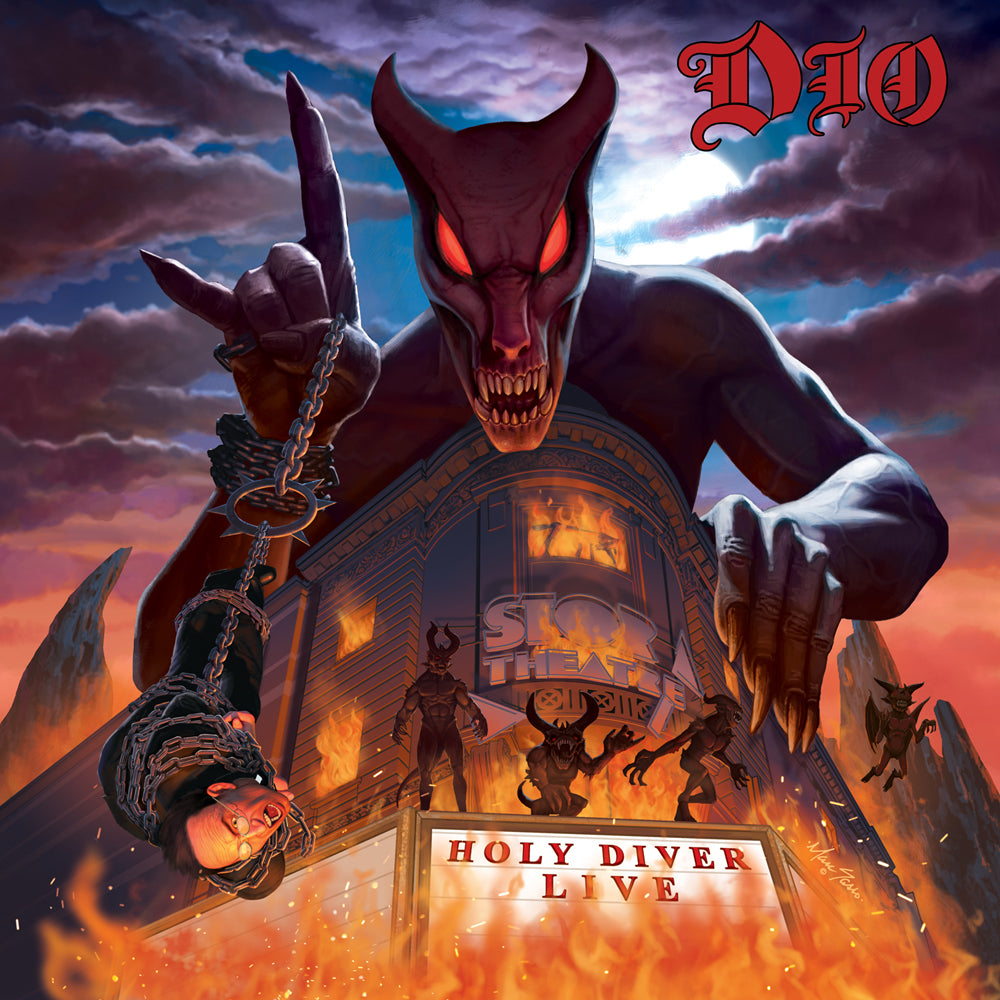 Dio - Holy Diver Limited Edition 3D Lenticular 3LP 180g Black Vinyl Record Album