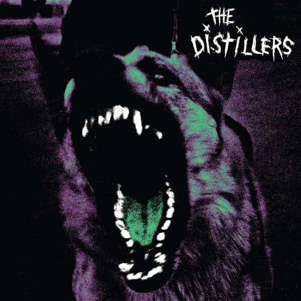 The Distillers – The Distillers Transparent Green with White and Black Colour Vinyl Record Album