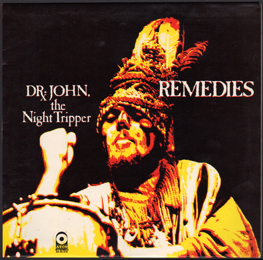 Dr.John - Remedies (RSD 2020 Drop One) Splatter Colour Vinyl Record Album