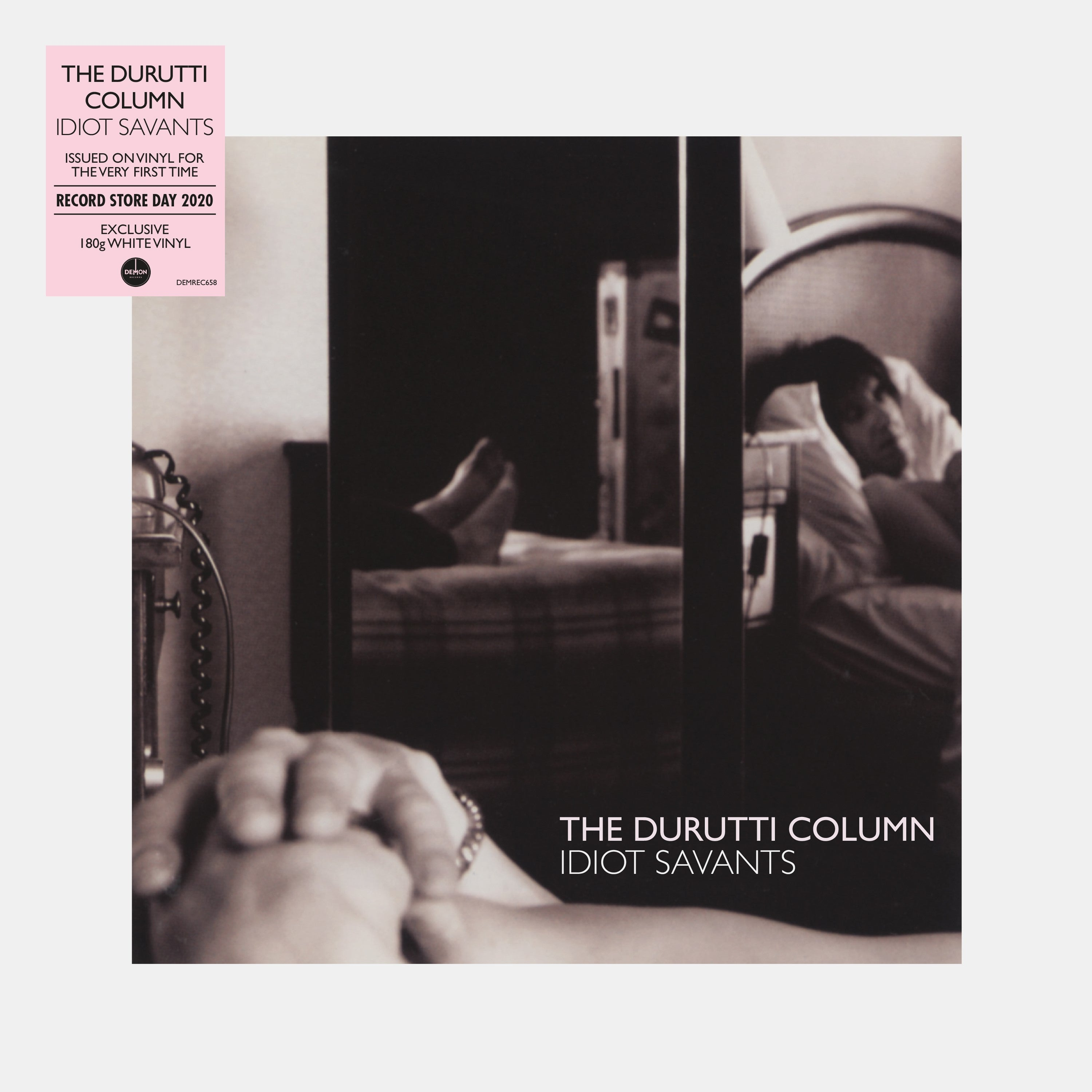 The Durutti Column - Idiot Savants (RSD 2020 Drop Two) White Colour Vinyl Record Album