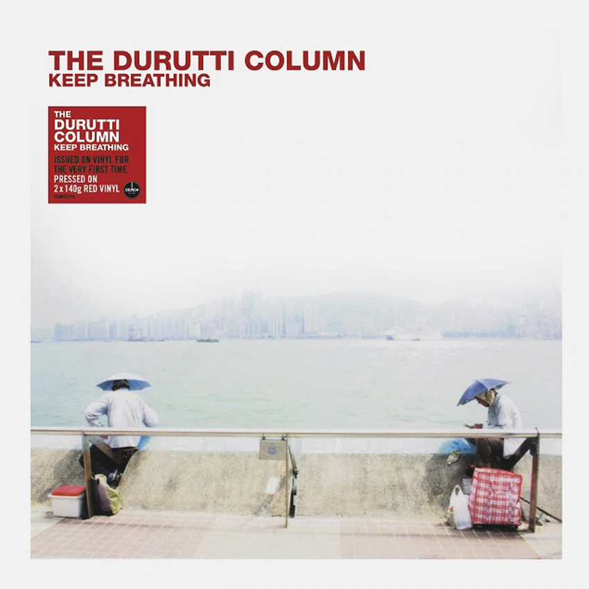 The Durutti Column - Keep Breathing 2LP 180g Red Colour Vinyl Record Album