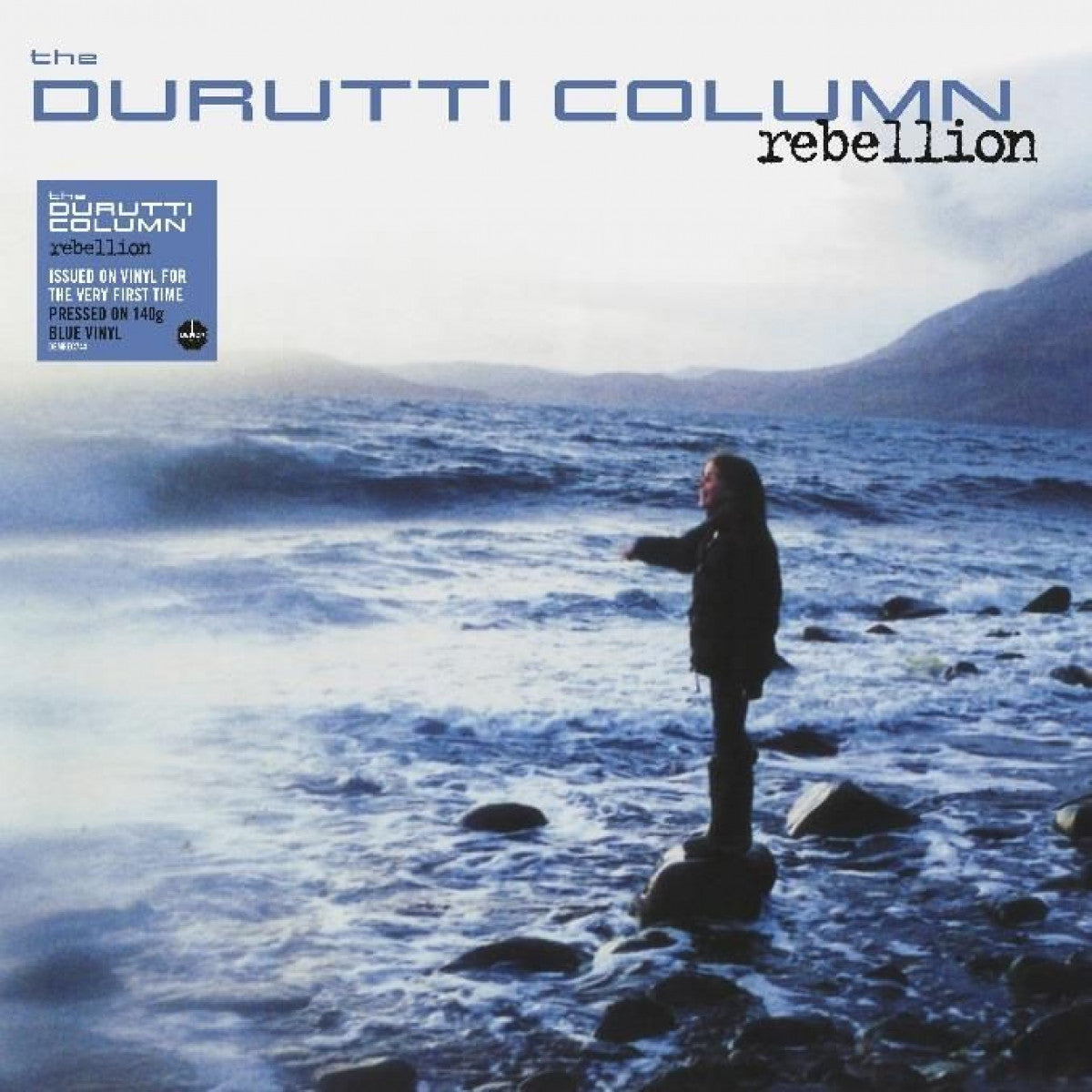 The Durutti Column - Rebellion 2LP 180g Blue Colour Vinyl Record Album