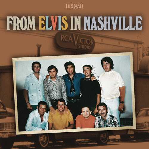 Elvis Presley - From Elvis in Nashville 2LP Vinyl Record Album