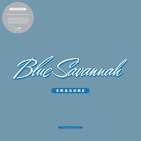 "Erasure - Blue Savannah (RSD 2020 Drop Two) Blue Colour 12"" EP"