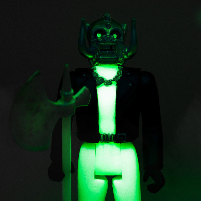 Motorhead - Warpig Glow in The Dark Official Licensed Super7 Reaction Figure