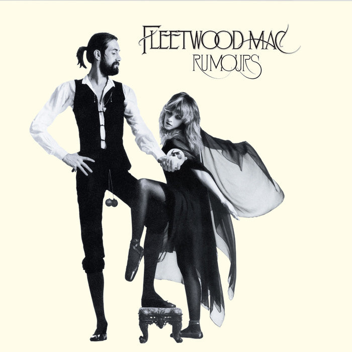 Fleetwood Mac - Rumours 140g Clear Colour Vinyl Record Album