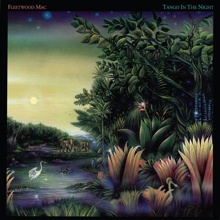 Fleetwood Mac - Tango In The Night 140g Green Colour Vinyl Record Album