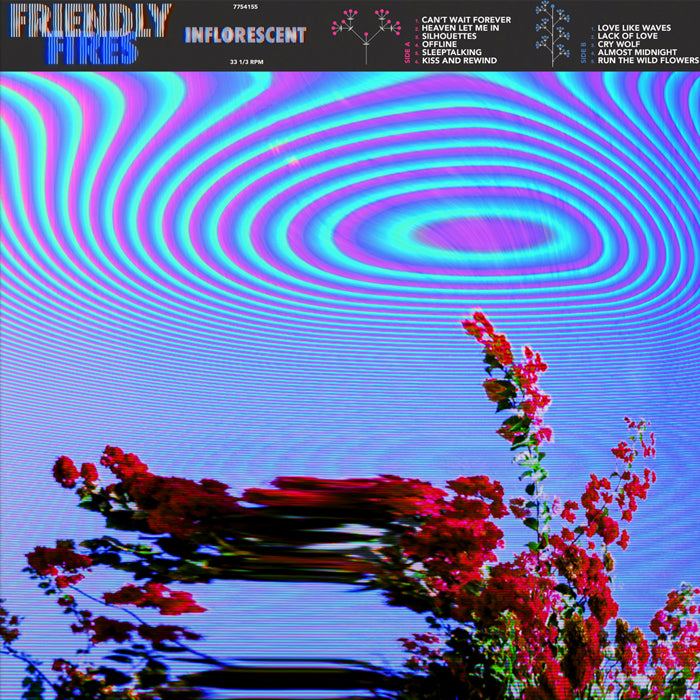 Friendly Fires ‎– Inflorescent Purple Colour 180g Vinyl Record Album, Vinyl, X-Records