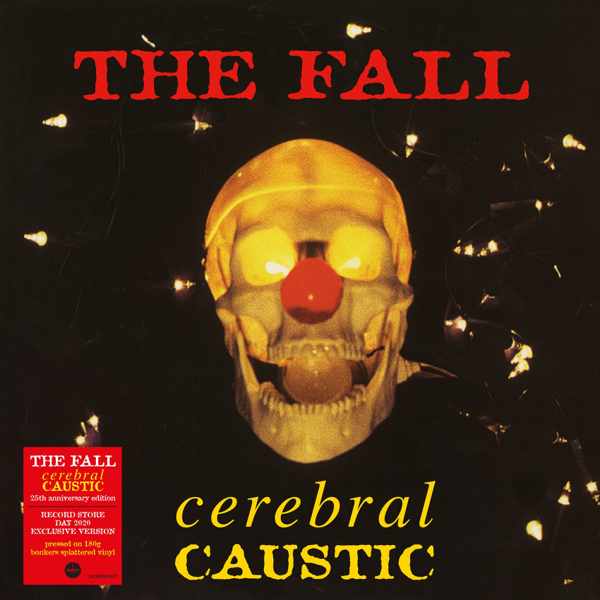 The Fall - Cerebral Caustic 25th Anniversary (RSD 2020 Drop One) 180g Bonkers Splatter Colour Vinyl Record Album