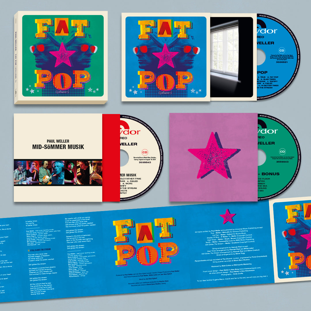 Paul Weller - Fat Pop 3CD Box Set