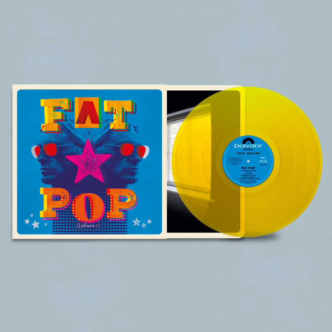 Paul Weller - Fat Pop Yellow Colour Vinyl Record Album