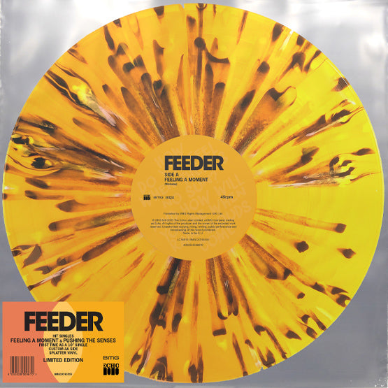 "Feeder - Feeling A Moment (RSD 2020 Drop One) 10"" Splatter Colour Vinyl Record"