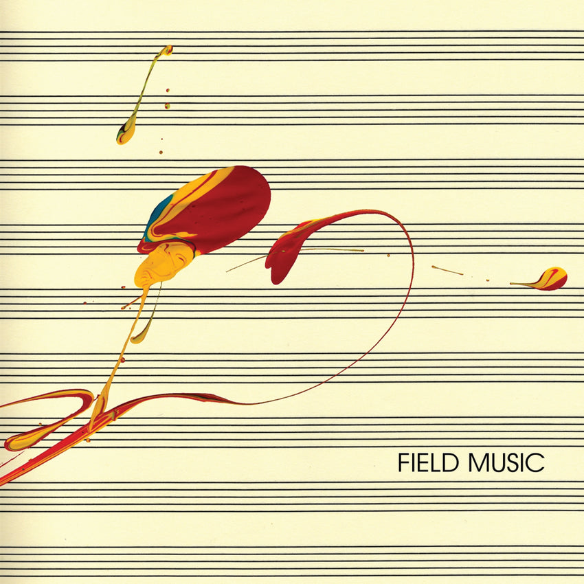 Field Music - Measure (RSD 2020 Drop One) 2LP Red Yellow Vinyl Colour Record Album