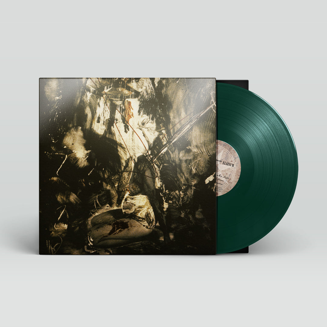 Fields Of The Nephilim - Elizium 30th Anniversary Edition 180g Green Colour Vinyl Record Album