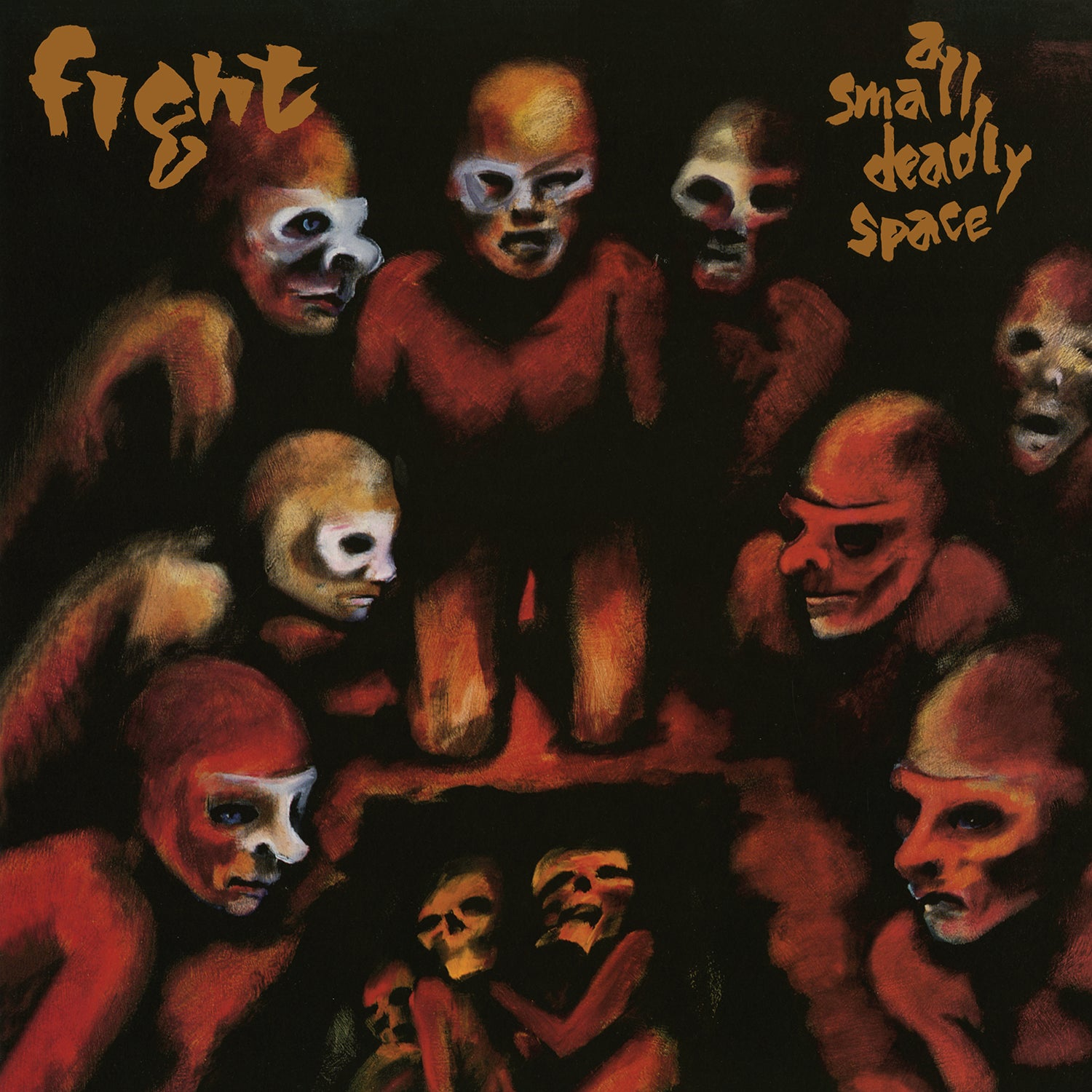 Fight - A Small Deadly Space (RSD 2020 Drop One) Red Black Marble Colour Vinyl Record Album