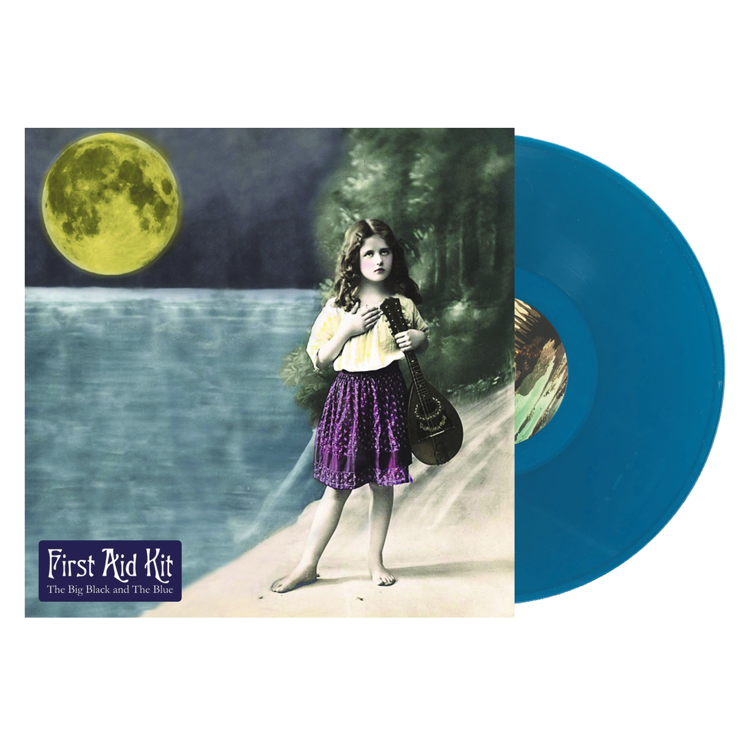 First Aid Kit - The Big Black And The Blue LRS Limited Edition Sea Blue Colour Vinyl Record Album