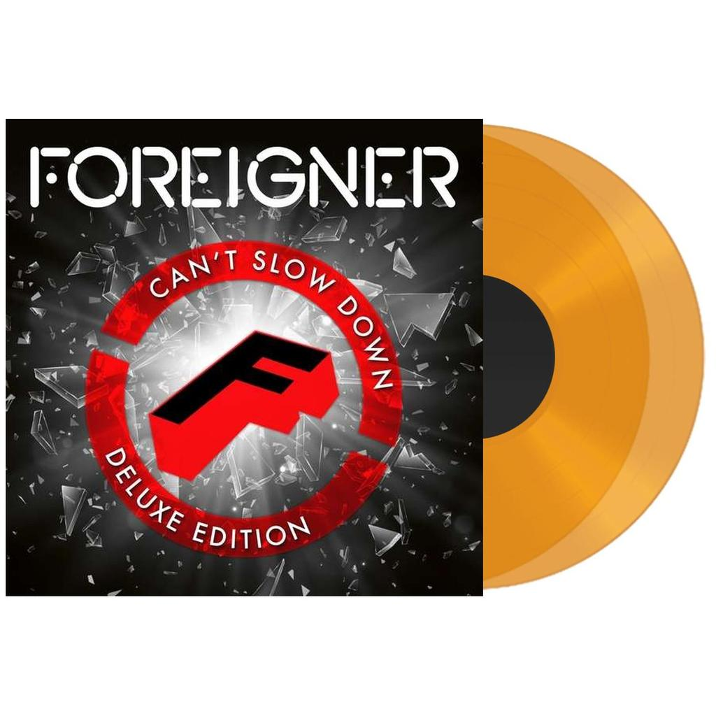 Foreigner	- Can't Slow Down (Deluxe Edition) 2LP Colour Vinyl Record Album