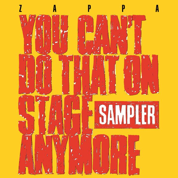Frank Zappa - You Can't Do That On Stage Anymore (RSD 2020 Drop Three) 2LP Red/Yellow Colour Vinyl