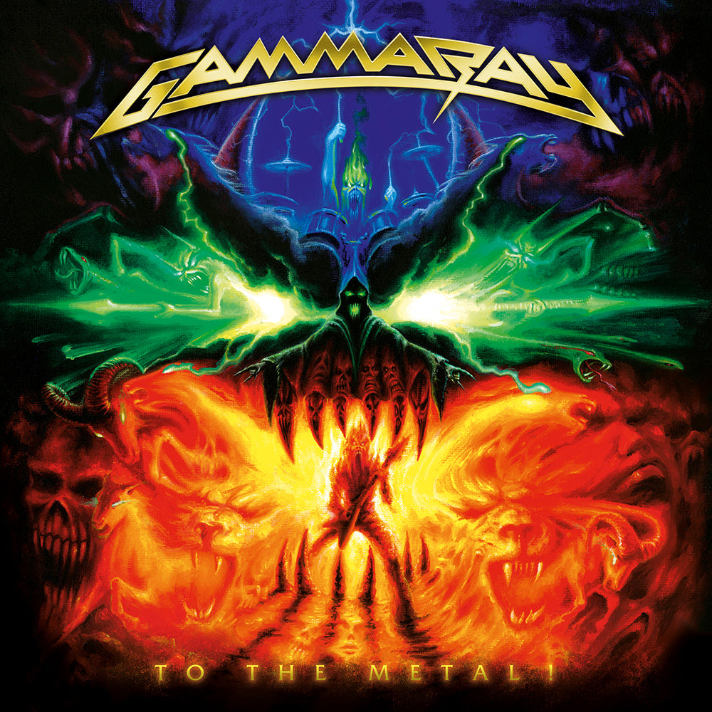 Gamma Ray - To the Metal (RSD 2020 Drop Three) Orange Colour Vinyl Record Album