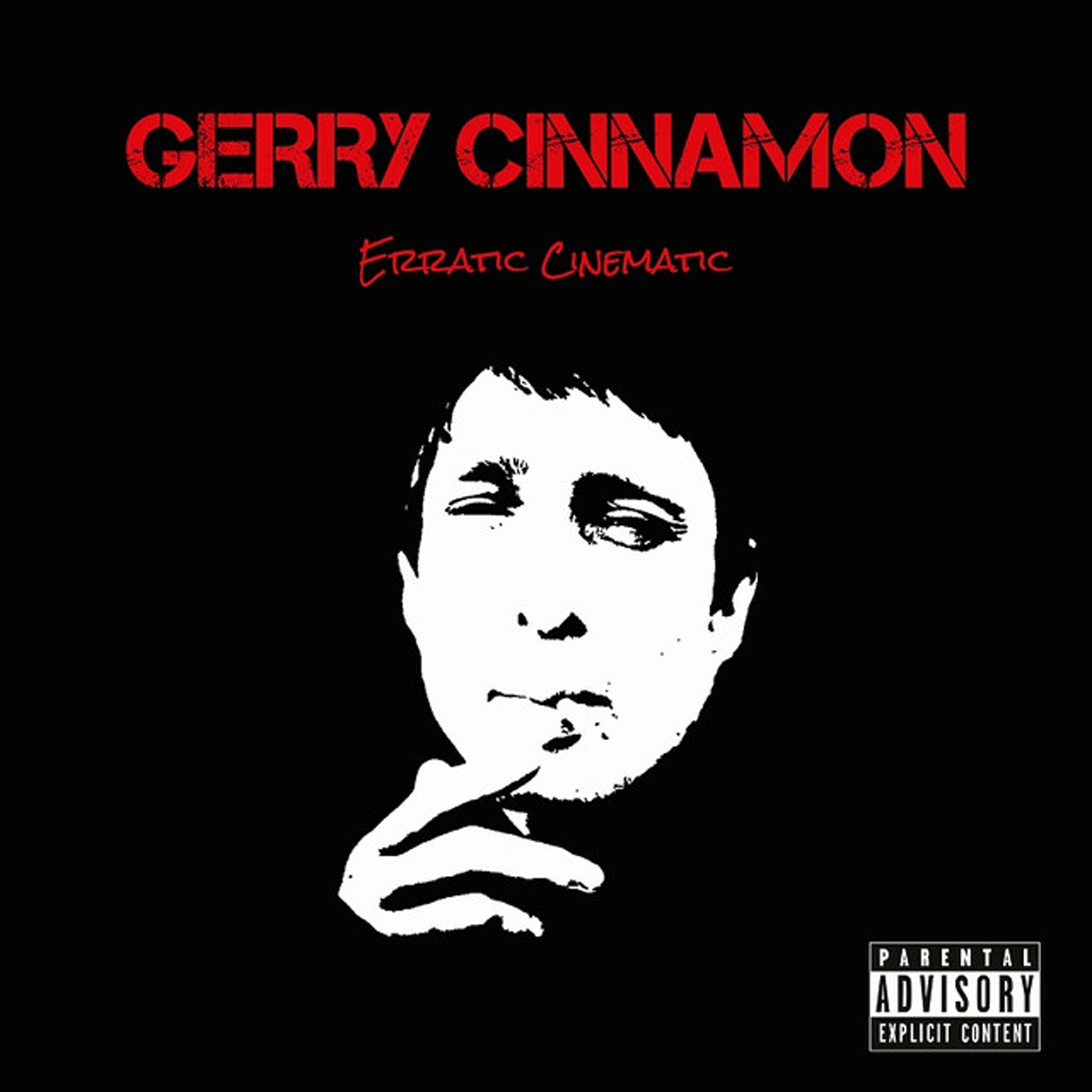 Gerry Cinnamon ‎– Erratic Cinematic Limited Edition Colour Vinyl Record