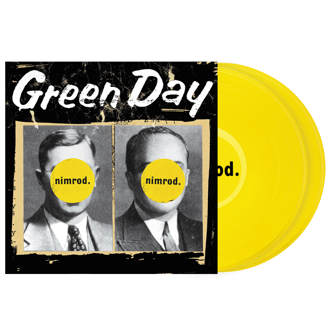 Green Day - Nimrod Limited Edition 2LP Translucent Yellow Colour Vinyl Record Album