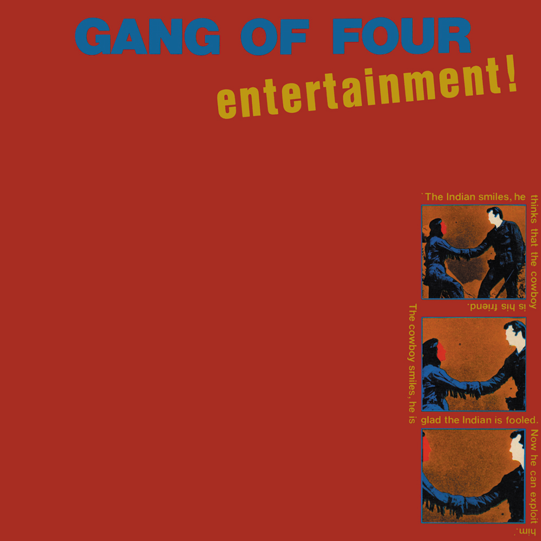 Gang of Four - Entertainment Vinyl Record Album