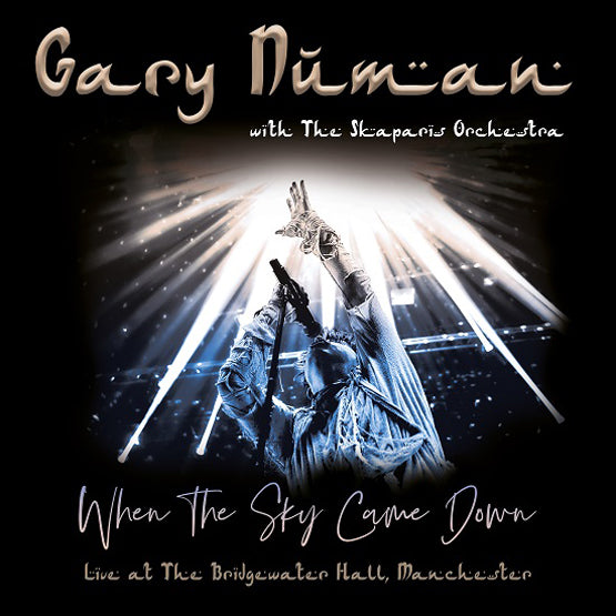 Gary Numan with The Skaparis Orchestra - When the Sky Came Down (Live at The Bridgewater Hall, Manchester) (RSD 2020 Drop One) 3LP Moon Phase Colour Vinyl Record
