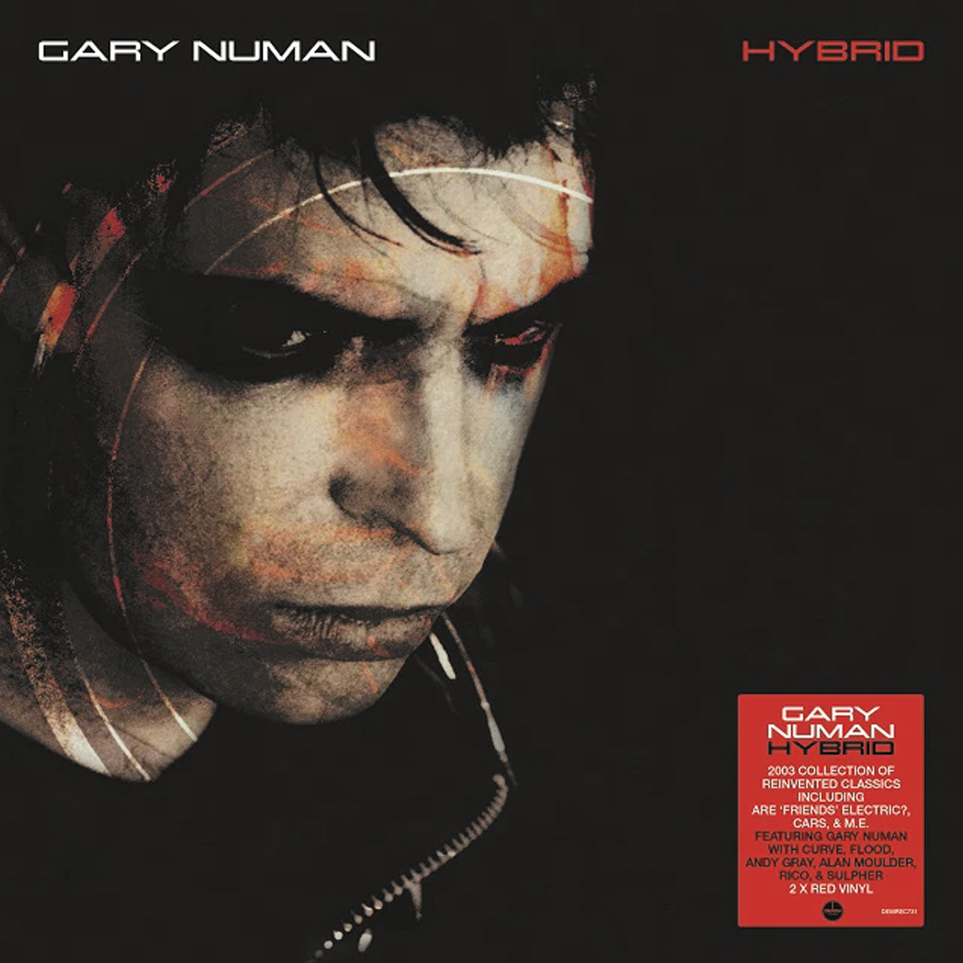 Gary Numan – Hybrid 2LP Red Colour Vinyl Record Album