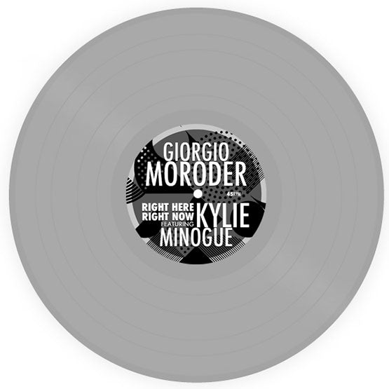 Giorgio Moroder Ft Kylie Minogue - Right Here Right Now (RSD 2020 Drop One) Grey Colour Vinyl Record