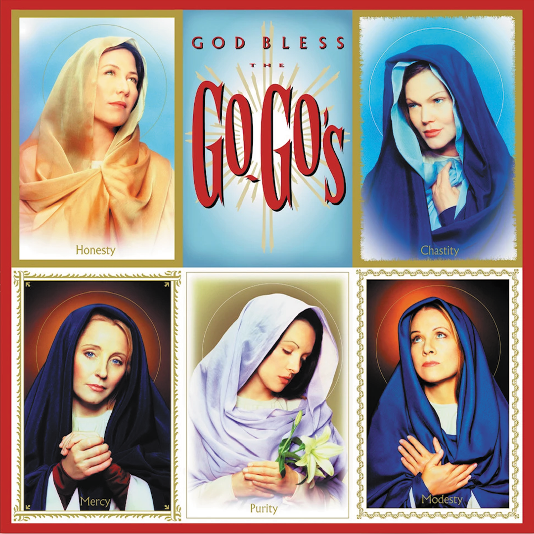 The Go-Go's - GOD BLESS THE GO GO'S Limited Edition Blue Colour Vinyl Record Album